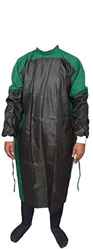 MEDI-Lin Reusable Surgeon Gown with Impervious Material (Front & Sleeves)/Surgeon Gown/Reusable Surgical Gown with Impervious Material/O.T Gown-Green Price & Reviews