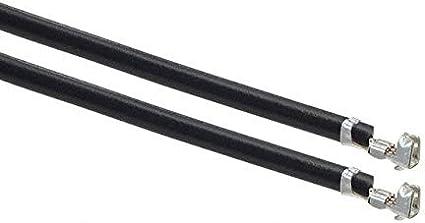 Pack of 100 8 PRE-CRIMP 1852 BLACK 0500798000-08-B8-D