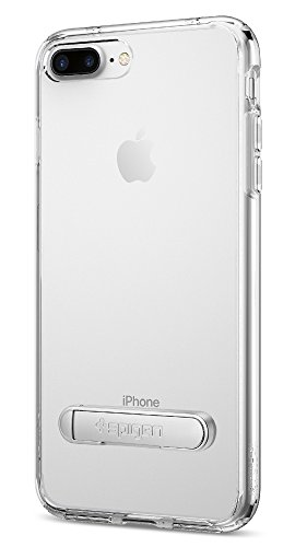Spigen Ultra Hybrid S iPhone 7 Plus Case with Air Cushion Technology and Magnetic Metal Kickstand for Apple iPhone 7...  s iphone 7 case | Top 10 Best iPhone 7 & 7 Plus Cases! 31uuSvwgKGL