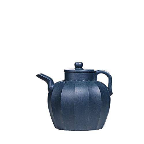azure blue teapot set - 9