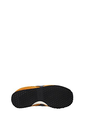und Sneakers Arancio Used MI Basket für Diadora Frau Mann Heritage Pq0Hp