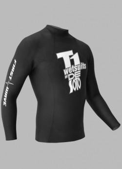 De Soto Sport T1 First Wave Pullover - FWP2 - 2017 (Black, - Wetsuit Most Buoyant Triathlon