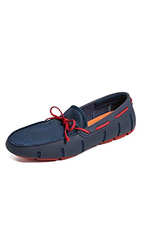Red Braided Lace Navy SWIMS Loafers Men's nRPZ1qqwY