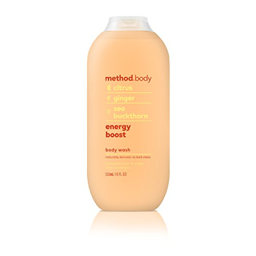 Method Body Wash, Energy Boost, 18 Fluid Ounce,Pack of 1 ()