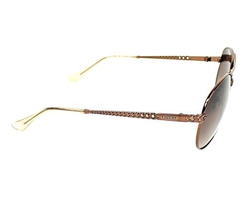 S Sonnenbrille Guess Braun Glanz GU7470 Dunkel aEAUwzx