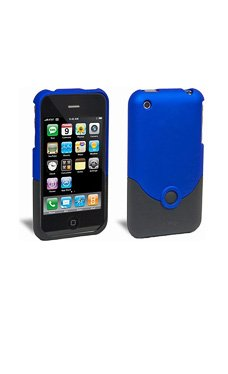 iFrogz Luxe Original Shell Case for iPhone 3G/3GS, Blue/Black