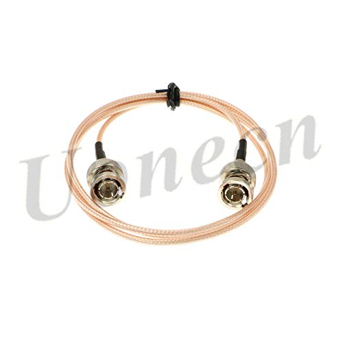 MegaFlex HD-SDI Cable RG179 BNC Male to BNC 75ohm for Blackmagic HyperDeck Shuttle and BMCC BMPC Hyperdeck Cameras 1M