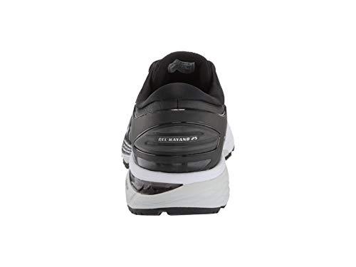 ASICS Gel Kayano 25 Men's Running Shoe, Black/Glacier Grey, 6 D US by ASICS (Image #2)