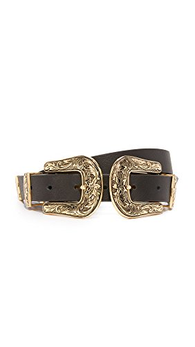 B-Low The Belt Women's Baby Bri Bri Belt, Black/Gold, Large by B-Low the Belt