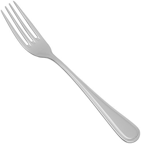 Winco Shangarila 12-Piece Table Fork Set, European, 18-8 Stainless Steel