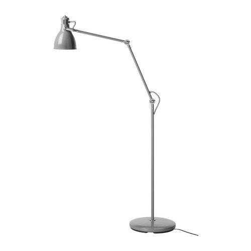 IKEA AROD - Piso / lámpara de lectura, gris: Amazon.es: Hogar