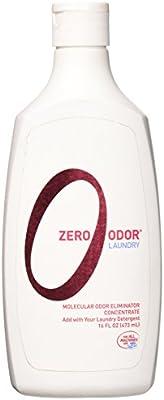 Zero Odor - Laundry Odor Eliminator - Concentrate, 16-Ounce