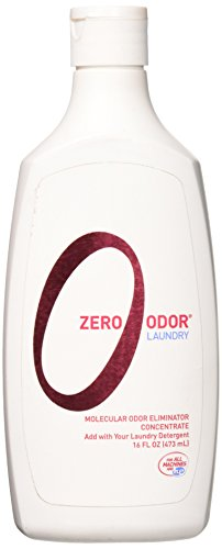 Zero Odor Laundry Odor Eliminator - Concentrate, 16-ounce (Laundry Odor Eliminator)