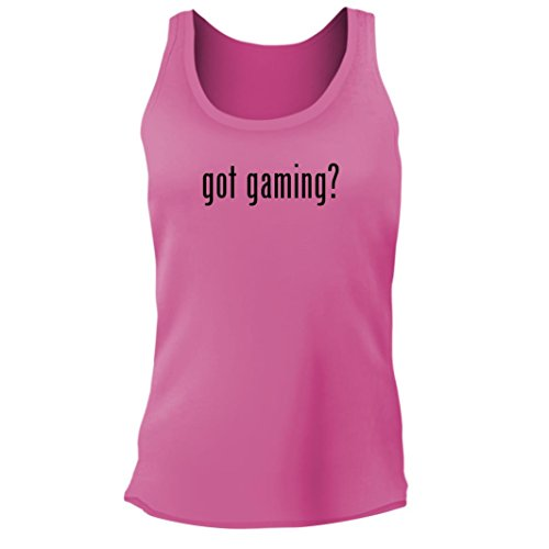 Tracy Gifts Got Gaming    Womens Junior Cut Adult Tank Top  Pink  Medium