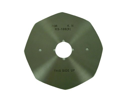 SuLee RC-280 4'' Octagonal-Round replacement blade Knife For Stand Up Type Electric Fabric Cutters by SU LEE