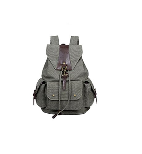 Business Laidaye Bag Canvas Grey Multi Retro Travel purpose Leisure Backpack rIFIwBqRtx