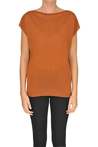 SO.BE Luxury Fashion Womens T-Shirt Spring Orange (Sobe Tshirt)