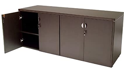 Beau 4 Door Locking Storage Credenza