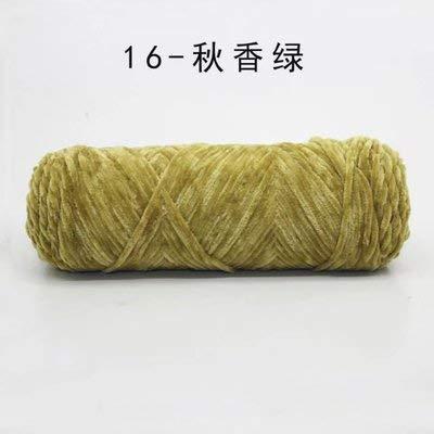 Angora Wool - 10ball 1000g Velvet Yarn Soft Protein Cashmere Silk Wool Crochet Knitting Cotton Baby Diy Sweater - Pullover Winder Iron Made Thermal Essential Knit Brand Undershirt Crochet ()