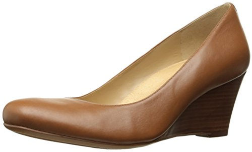 Naturalizer Women's Emily Wedge Pump, Saddle, 7 M US by Naturalizer