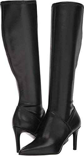 Nine West Womens Chelsis, Black Synthetic, Size - Boots West Rubber Nine