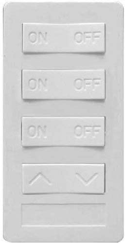 X10 PRO 1-Button Keypad All On//All Off White