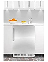 Summit CT66JBISSTB Refrigerator, Stainless Steel