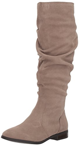 Steve Madden Women's Beacon Fashion Boot Taupe Suede