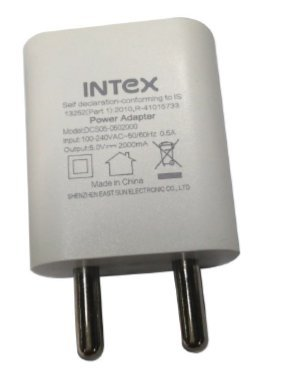 INTEX MOBILE USB CHARGER 2A Wall Chargers