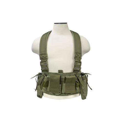 NcSTAR CVUCR2943G Vism Ultimate Chest Rig Green