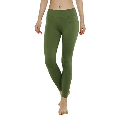 QYQ Buttery Soft Women's Leggings -10+Colors -High Waisted Yoga Pants w Hidden Inner Pocket, Reg&Plus Size