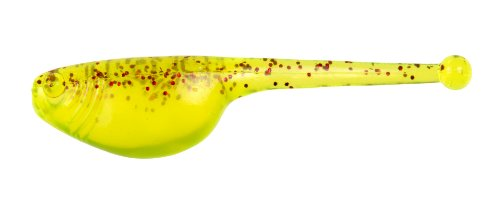 Strike King Mr. Crappie Shadpole Panfish Bait, 2-Inch, Red Chili Pepper