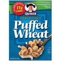 Quaker Cereal Puffed Wheat - 10 Pack,5.3 Oz