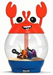 Ciano Acuario My Acuario con Filtro Crab Naranja