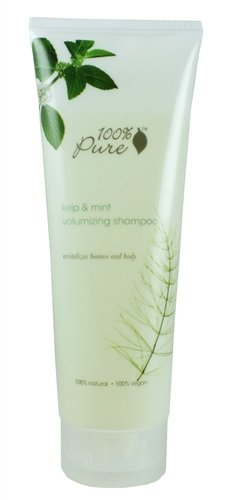 100% Pure Kelp and Mint Volumizing Shampoo, 8.0 Fluid Ounce