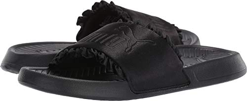 (PUMA Women's Popcat Silk Black Black 9 B US)