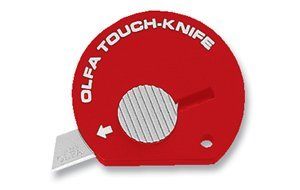 Olfa Ol-tk Touch Knife, Red,Single