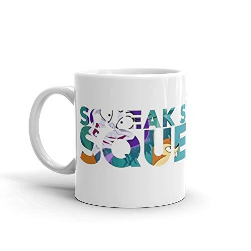 Emperor's New Groove - Squeak Squeaker Squeakin Mug 11 Oz White Ceramic