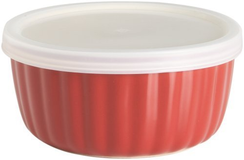 Good Cook 14 Ounce Ramekin, Red (Pack of 6)