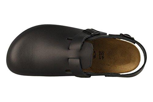 Birkenstock Unisex Professional Tokyo Super Grip Leather Slip Resistant Work Shoe Black Leather 4bBMF