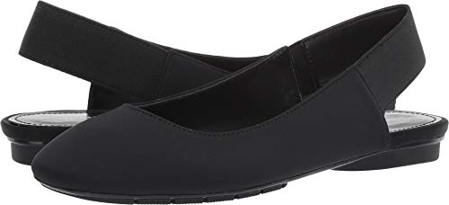 Donald J Pliner Women's Dane Black Crepe Elastic 5.5 M US