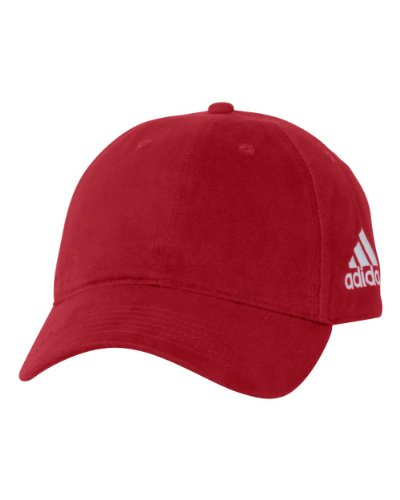 adidas - Unstructured Cresting Cap - A12 - Adjustable - University (Adidas Red Hat)