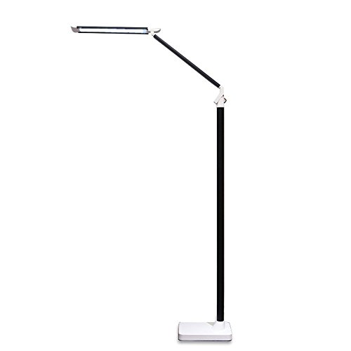Iminovo modern led floor lamp light remote control vertical desk iminovo modern led floor lamp light remote control vertical desk lamp piano light simple for living room bedroom study reading dimmable aloadofball Image collections