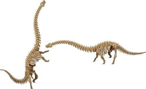 puzzle en 3D diplodocus