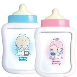 Novelty Baby Milk Bottle Style Photo Frame Ornament