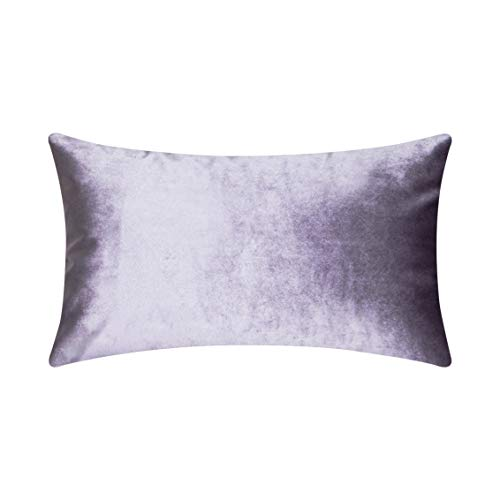 HOME BRILLIANT Rectangular Oblong Accent Throw Pillow Cover Decorative Cushion Cover for Neck Support/Nursing, 12