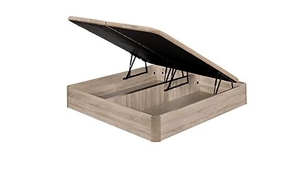 Santino Canapé Abatible Wooden Gran Capacidad Artic 160x200 ...
