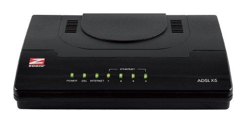 Zoom 5754 Ethernet ADSL 2/2+ Modem with 4-port switch