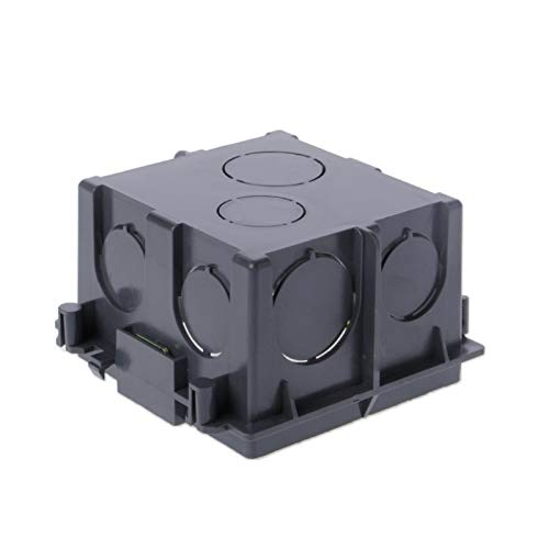 Ash Wall Mount Receptacle - Let's dream switchs with 86-Type PVC Junction Box Wall Mount Cassette For Switch Socket Base