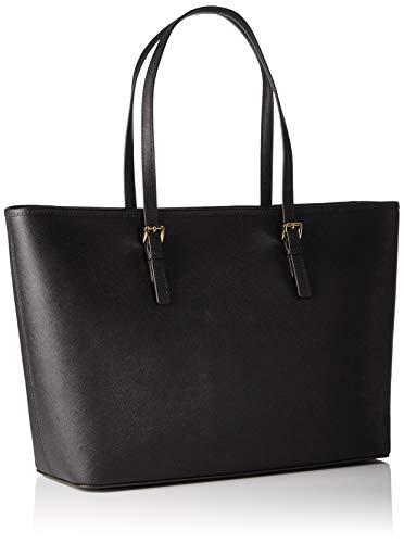 Michael Kors - Jet Set Travel Saffiano Leather Top-Zip Tote, Borsa con Maniglia Donna 2